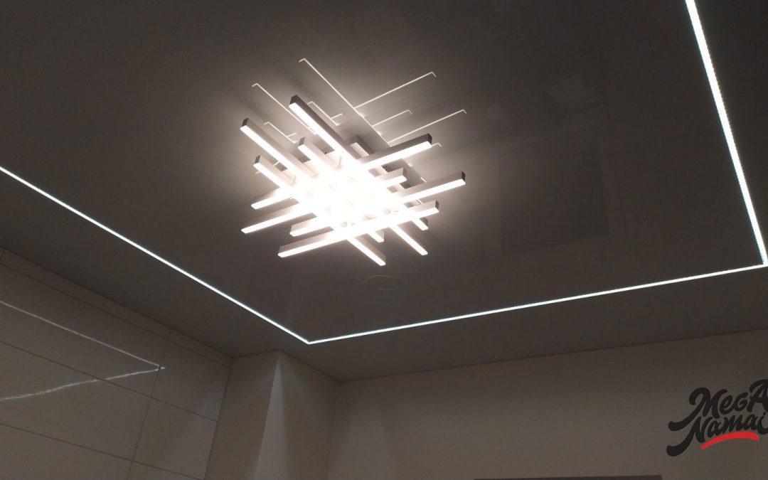 LED-linijos vonioje